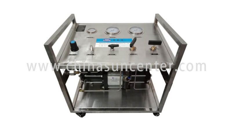 Suncenter bench hydraulic test bench at discount for safety valve calibration-2