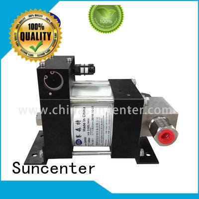 Suncenter dggd air driven hydraulic pump overseas market for petrochemical