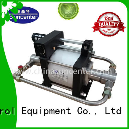 Suncenter durable co2 pump equipment for safety valve calibration