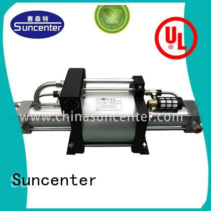 gas booster model for pressurization Suncenter