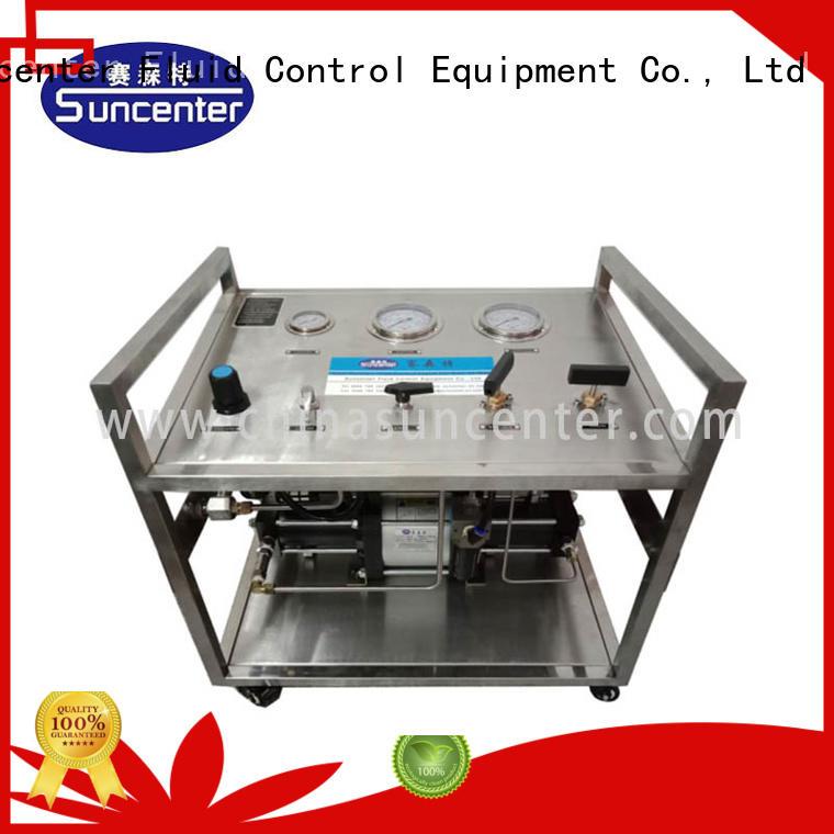 Suncenter stable hydrostatic pressure test marketing for safety valve calibration