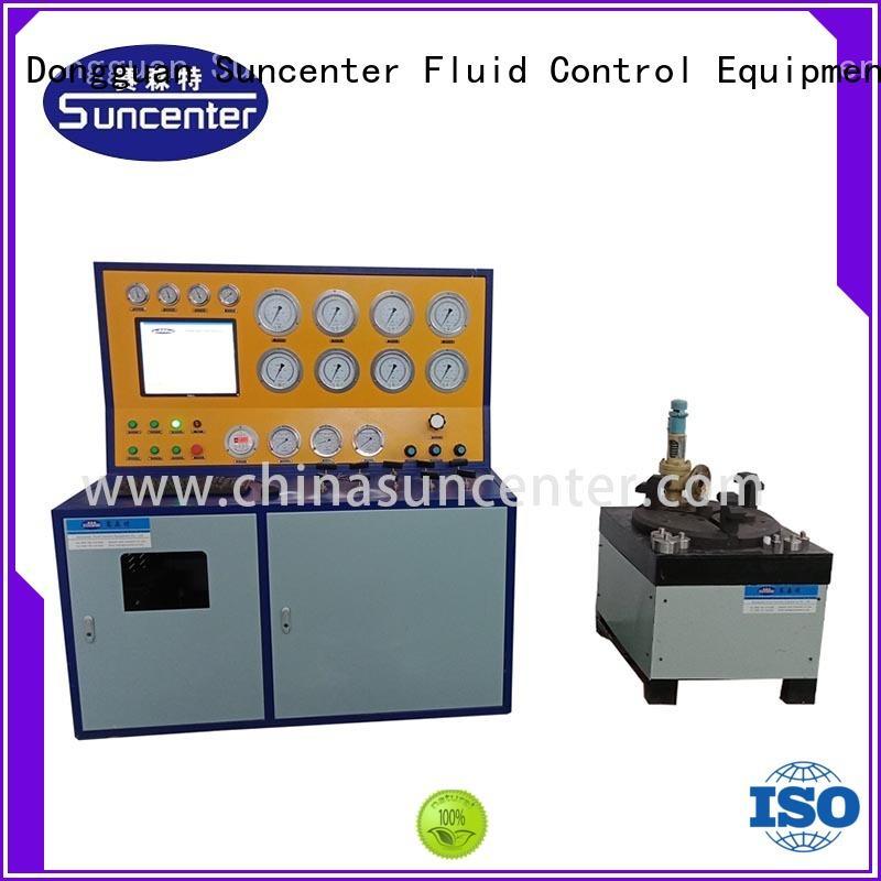 Suncenter valve valve test bench from manufacturer for industry