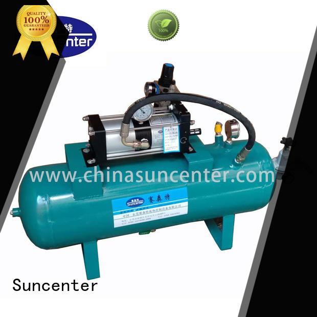 Suncenter air pressure pump type for natural gas boosts pressure