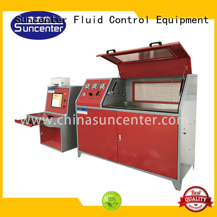 machine water pressure testing machine in China for flat pressure strength test Suncenter