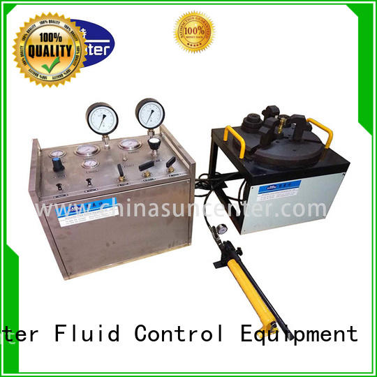 Suncenter highest hydrostatic pressure test from manufacturer