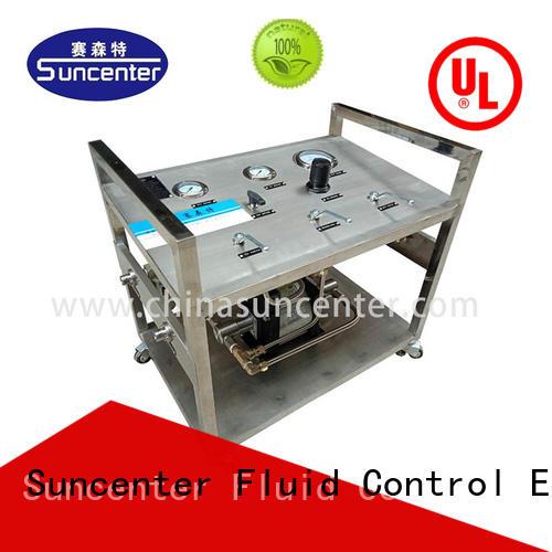 Suncenter extraction liquid nitrogen pump development for safety valve calibration