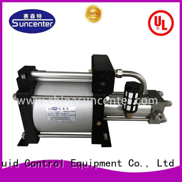 Suncenter nitrogen oxygen pumps for pressurization