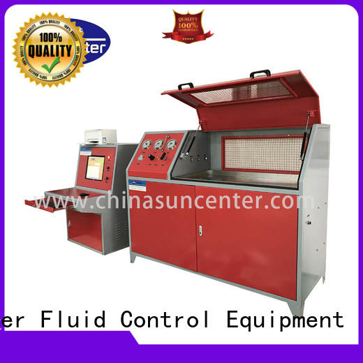 Suncenter bench water pressure tester for pressure test