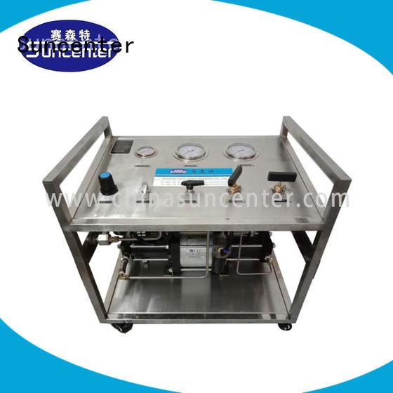 system gas Suncenter Brand haskel gas booster pump
