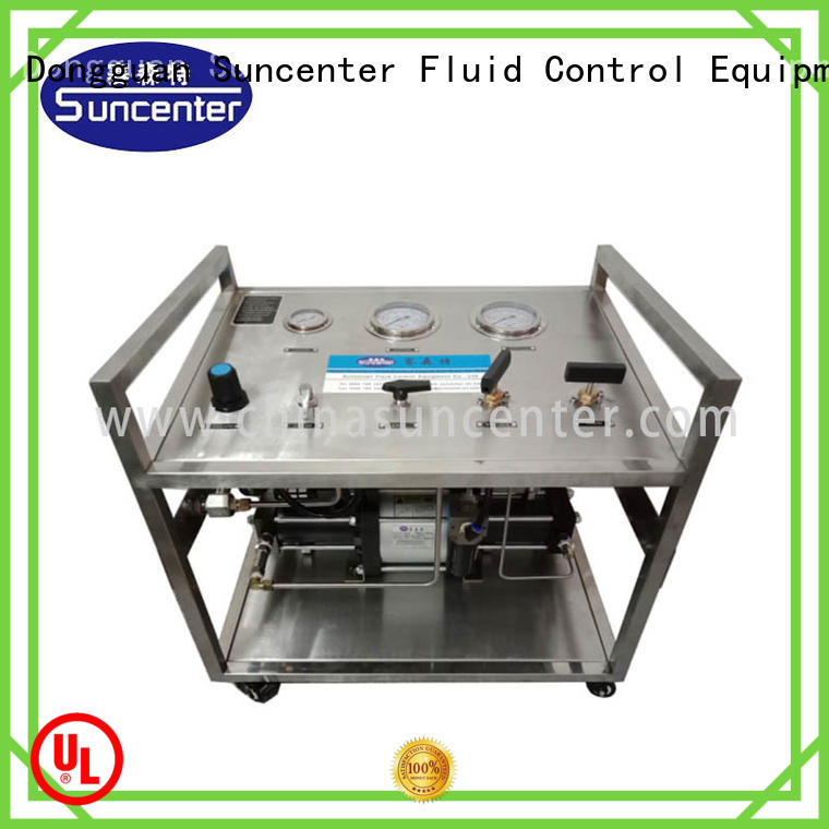 Suncenter stable hydraulic test bench factory price for safety valve calibration