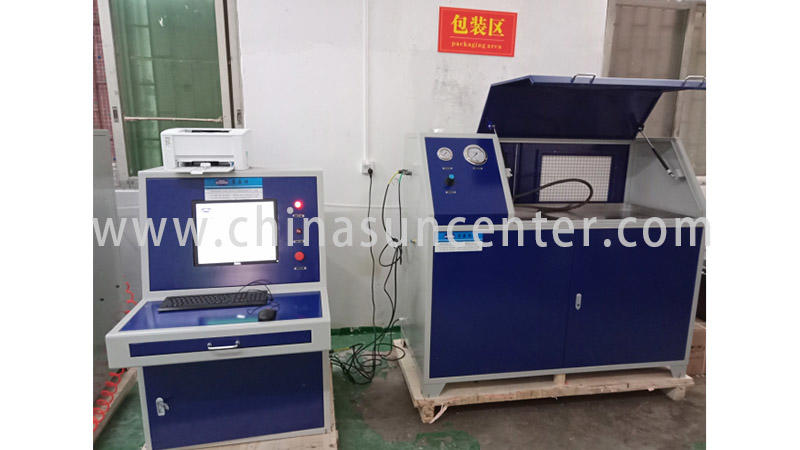 Hydraulic test machine with 10 bar-6000 bar pressure range-2