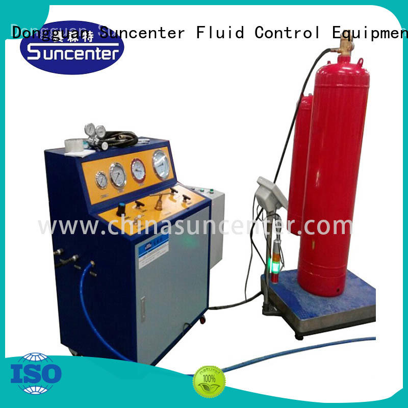irresistible fire extinguisher refill station automatic bulk production for fire extinguisher