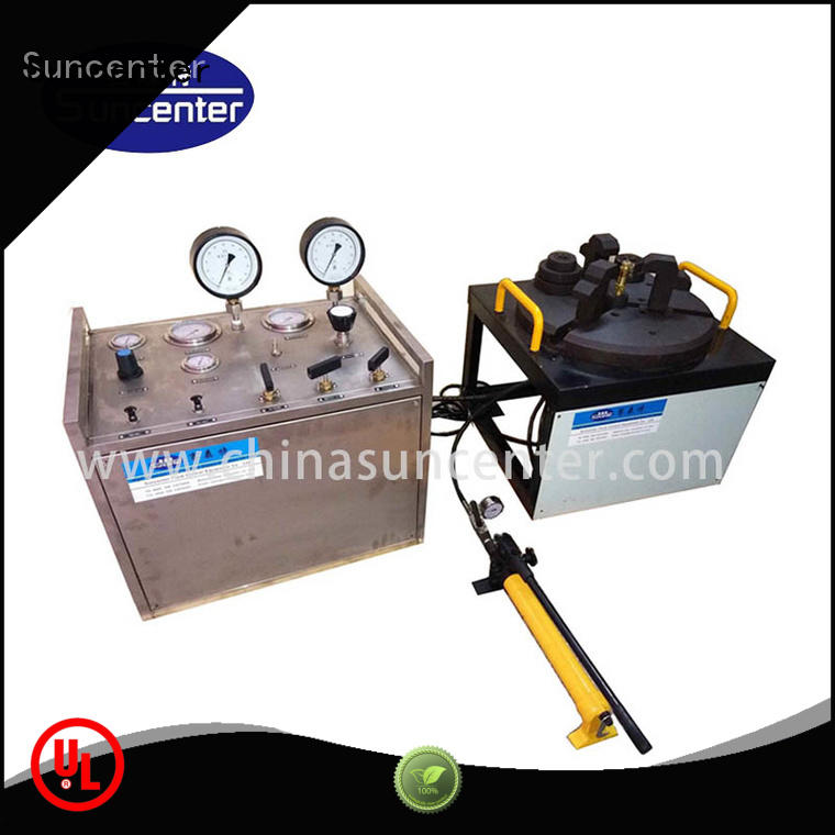 safety valve test bench from manufacturer