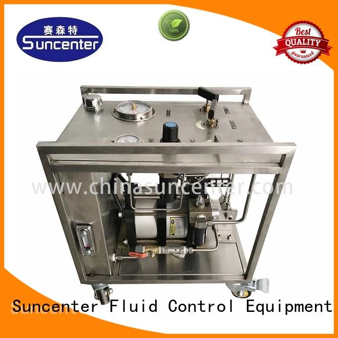 oil chemical injection pump field for medical Suncenter