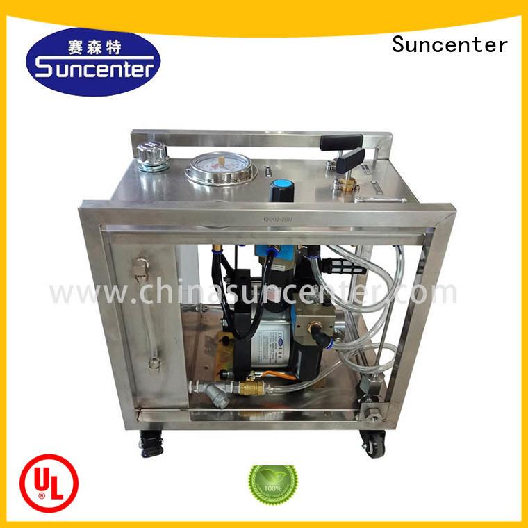 Suncenter chart hydrostatic testing marketing for machinery
