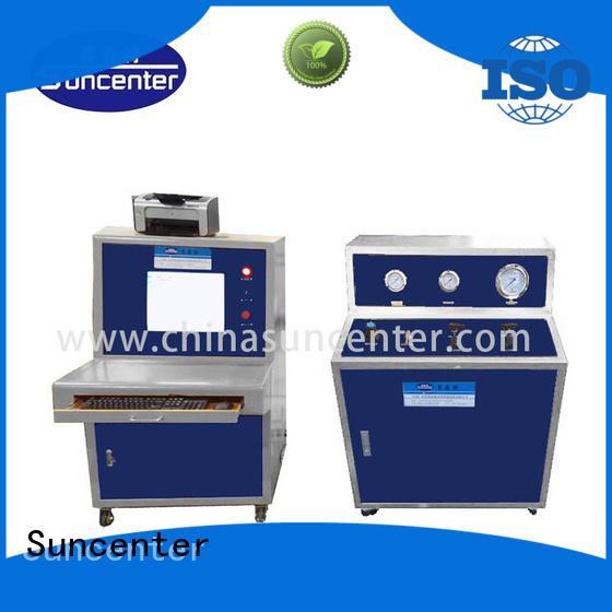 high-reputation water pressure testing machine type for flat pressure strength test Suncenter