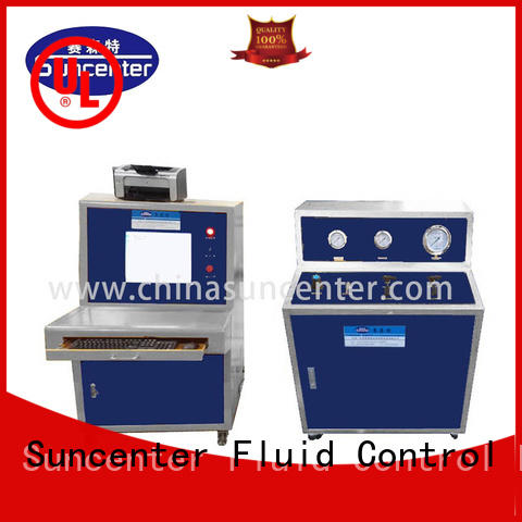 Suncenter energy saving hydrotest pressure type for flat pressure strength test