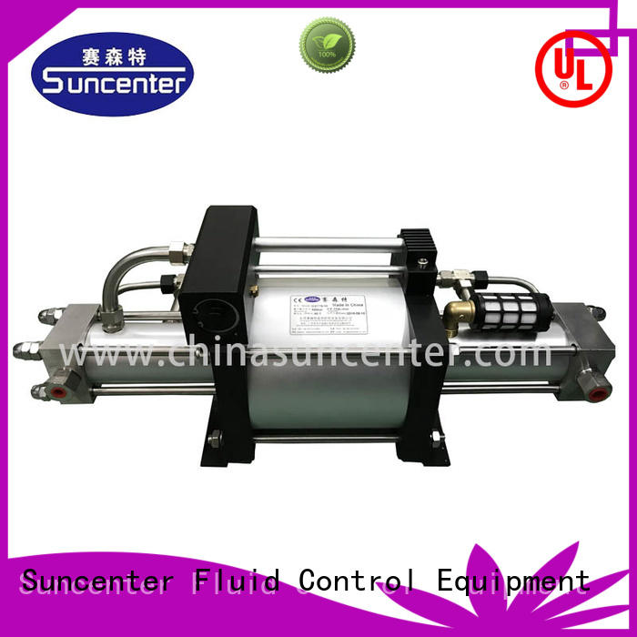 Suncenter series nitrogen pumps for-sale for natural gas boosts pressure
