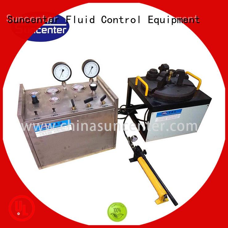 Suncenter model hydro pressure test pump for factory
