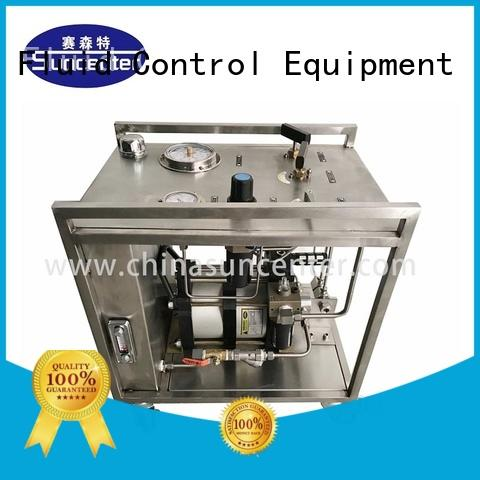 Suncenter energy saving haskel pump temperature for medical