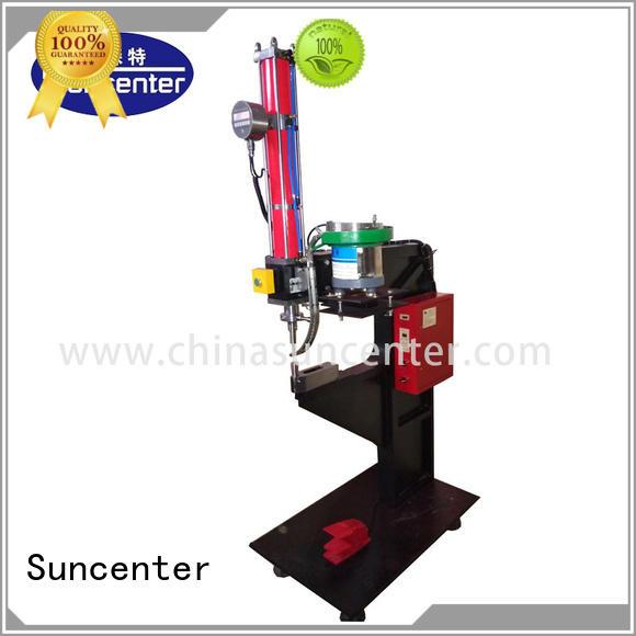 Suncenter nut orbital riveting machine free design for welding