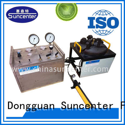 Suncenter portable valve test bench marketing
