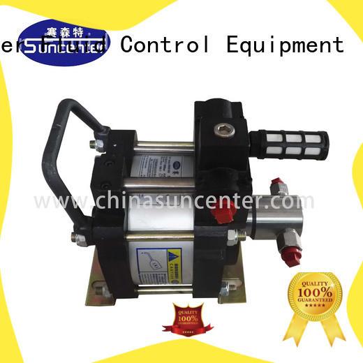 Suncenter high pressure pneumatic pump driven for metallurgy