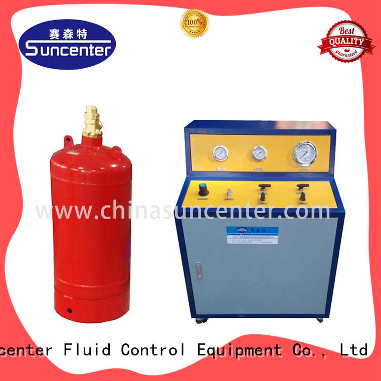 scientific fire extinguisher refill station automatic bulk production for fire extinguisher