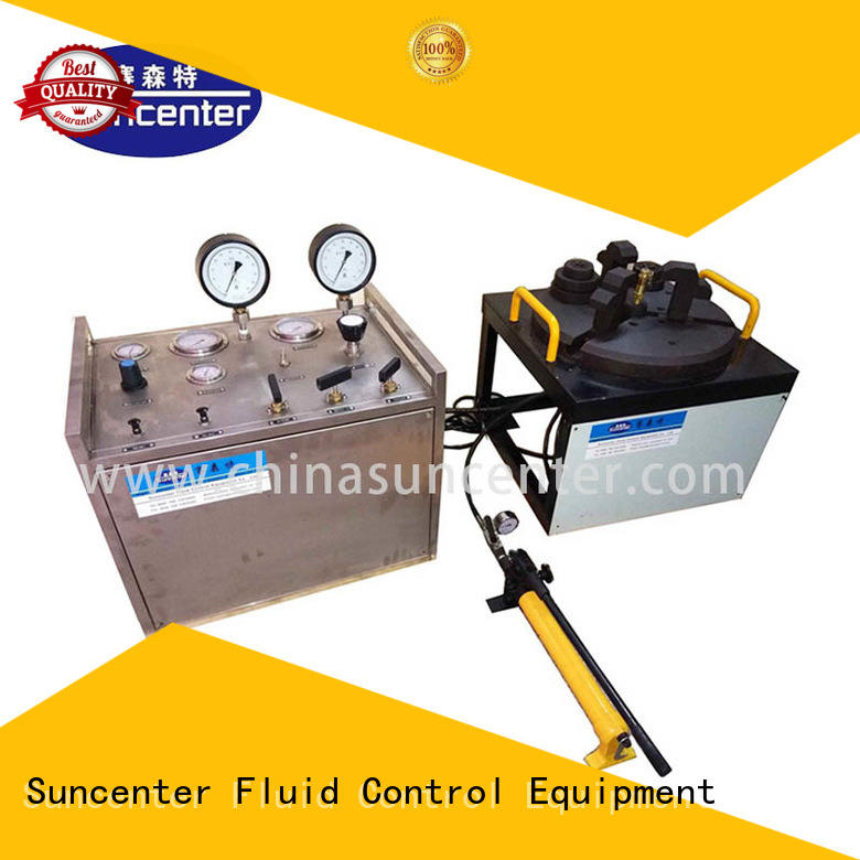 Suncenter hydrostatic pressure test at discount for industry