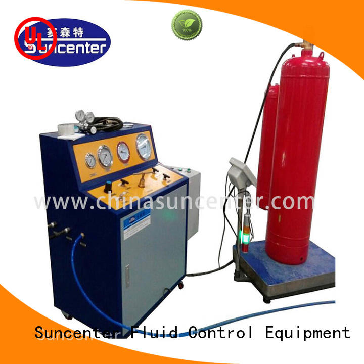 Suncenter fire fire extinguisher filling equipment for fire extinguisher