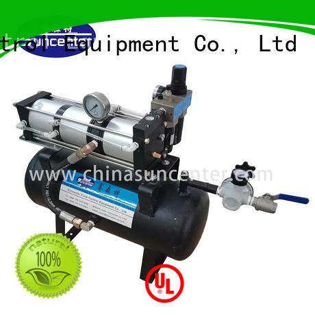 Hot bar air pressure booster pump gas Suncenter Brand