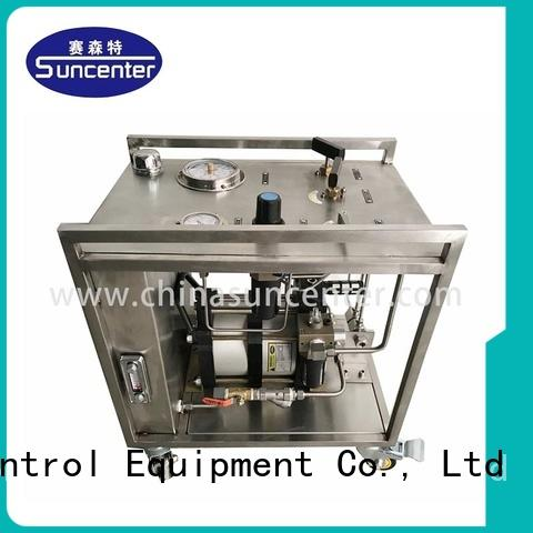 hydrostatic pump test field machine Suncenter Brand company