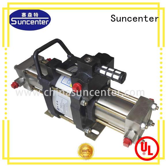 Suncenter safe nitrogen gas booster lpg for safety valve calibration