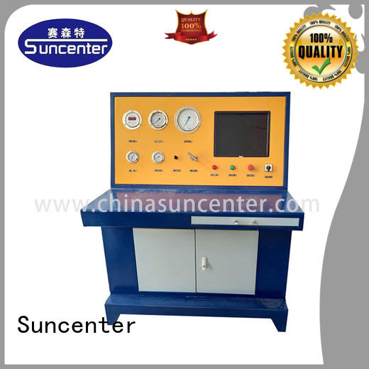 Suncenter professional cylinder test marketing for machinery