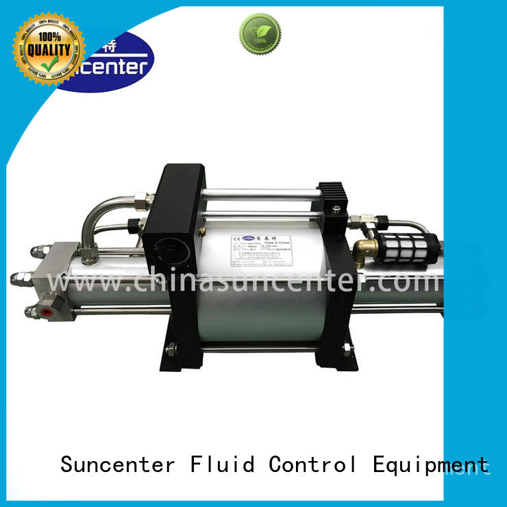 Suncenter high reputation gas booster for safety valve calibration
