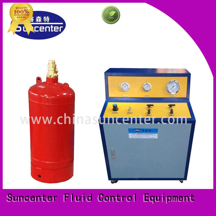 Suncenter high-energy fire extinguisher refill station free design for fire extinguisher