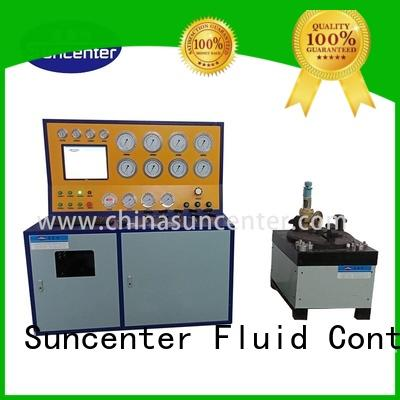 Suncenter safety hydro pressure test pump for industry
