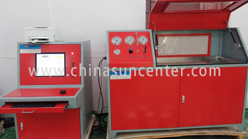 Hydraulic test machine with 10 bar-6000 bar pressure range-3