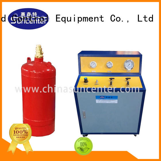 environmental fire extinguisher refill station filling type for fire extinguisher