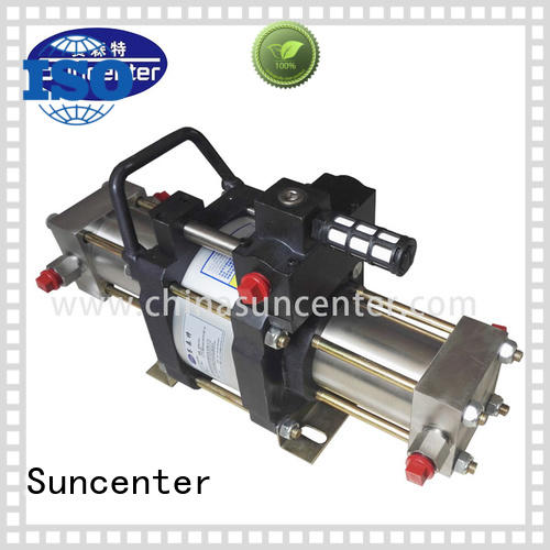 Suncenter model nitrogen pump type for natural gas boosts pressure