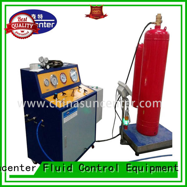 Suncenter hot-sale automatic liquid filling machine marketing for fire extinguisher