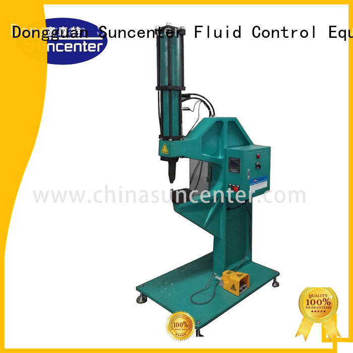 rivetless orbital riveting machine bolt Suncenter