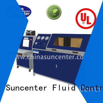 Suncenter energy saving hydrotest pressure sensing for pressure test