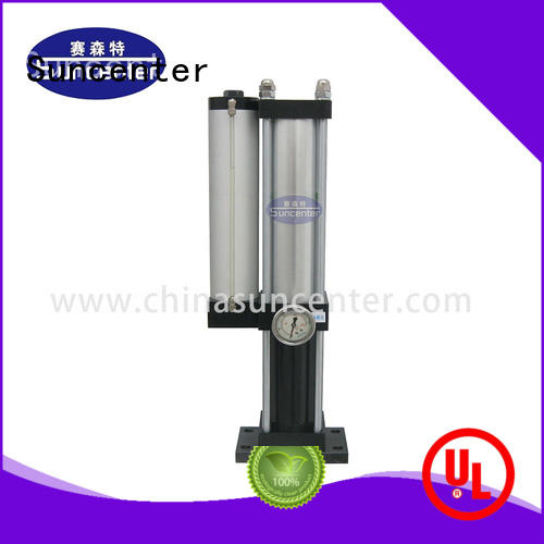 Suncenter rivetless double acting pneumatic cylinder constant for electric power