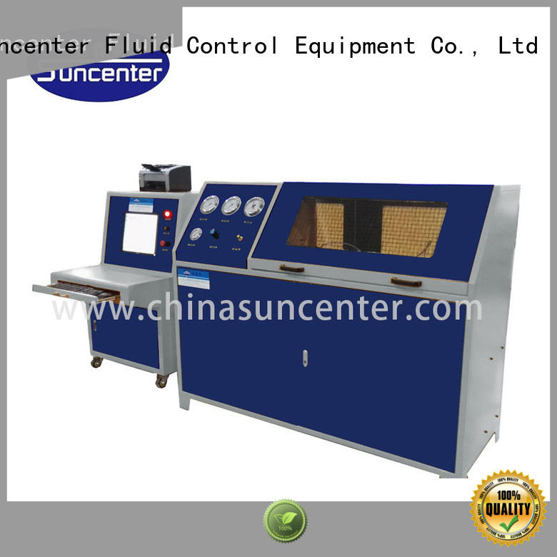 competetive price water pressure testing machine in China for flat pressure strength test Suncenter