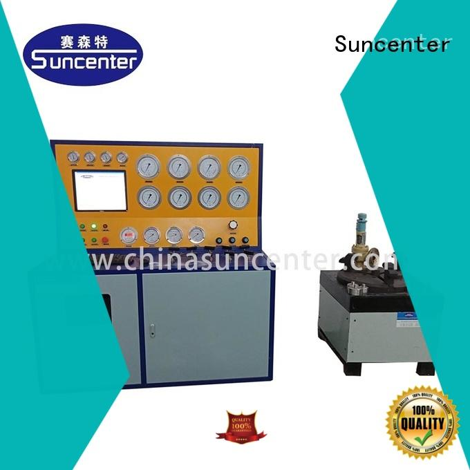 stable hydro pressure tester bench for factory