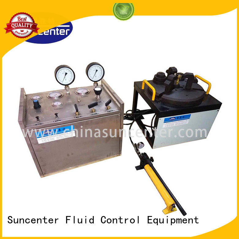 Suncenter control gas pressure test marketing for industry