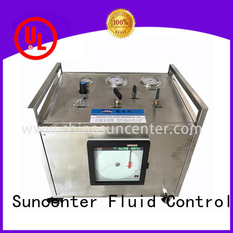 Suncenter test pressure booster pump from manufacturer for safety valve calibration