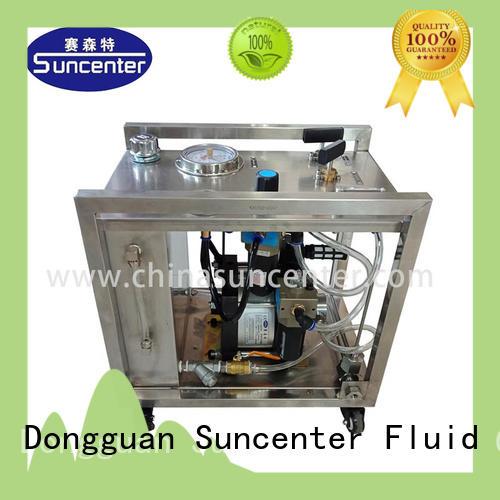 Suncenter hydrostatic hydro test pump manufacturer for petrochemical