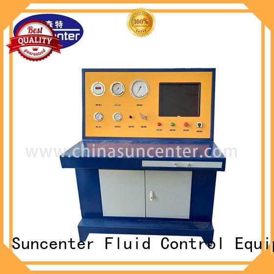 Cylinder hydrostatic pressure test machine